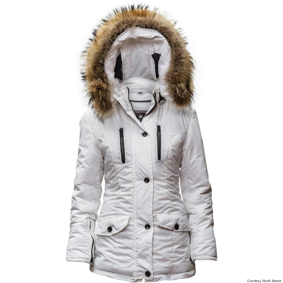 north aware smart parka