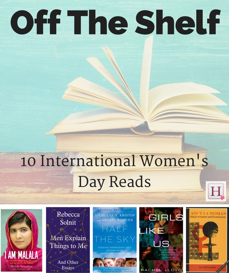 international womens day books