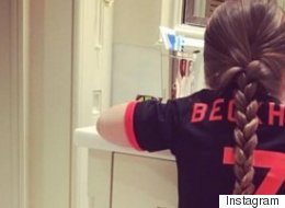 David Beckham Gushes Over Harper's Manchester United Kit