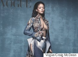 Rihanna Slays On Cover Of Vogue, Reveals Her Own Shoe Line