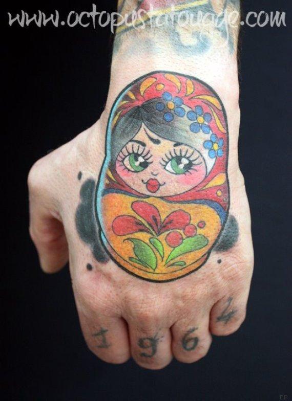 tatouage claire octopus
