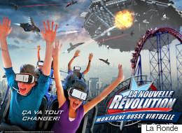 Du nouveau à La Ronde: de la réalité virtuelle dans le Goliath! (VIDÉO)