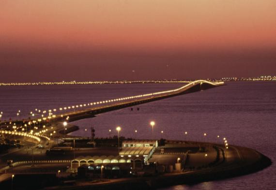 bridge saudi bahrain