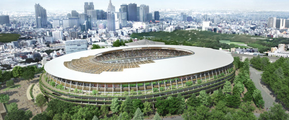 JAPAN NEW OLYMPIC STADIUM NEW DESIGN OF THE NATION