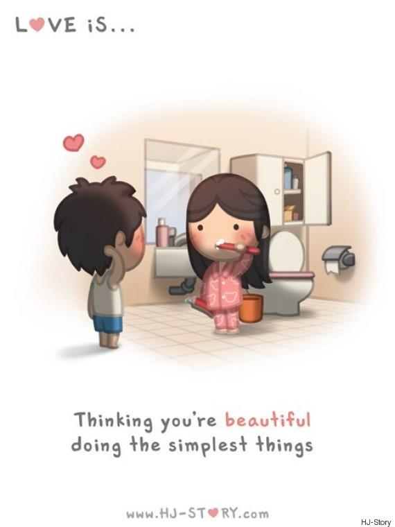 love beautiful illustration