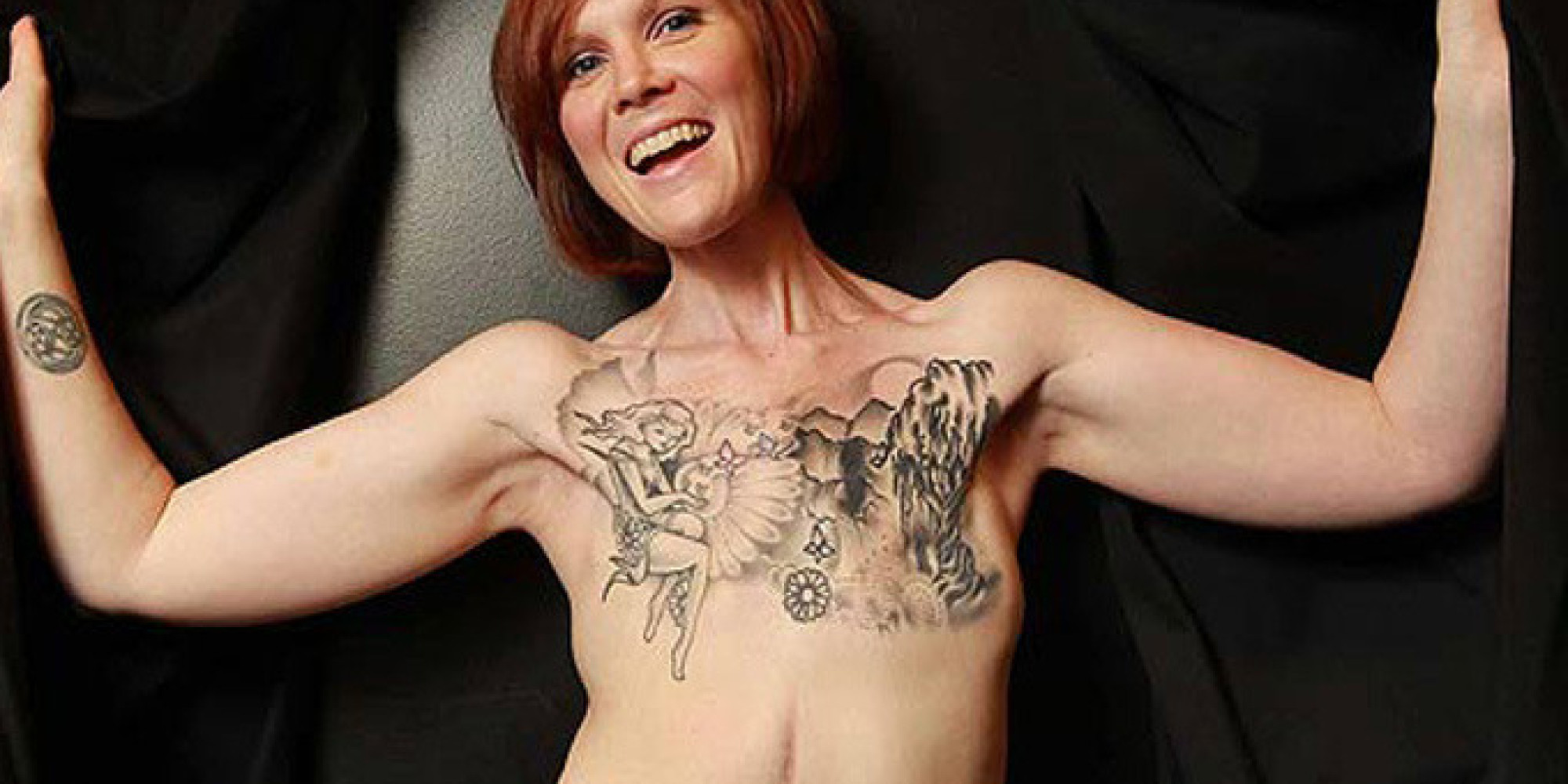 Quand le tatouage sert d'arme contre la maladie (PHOTOS)