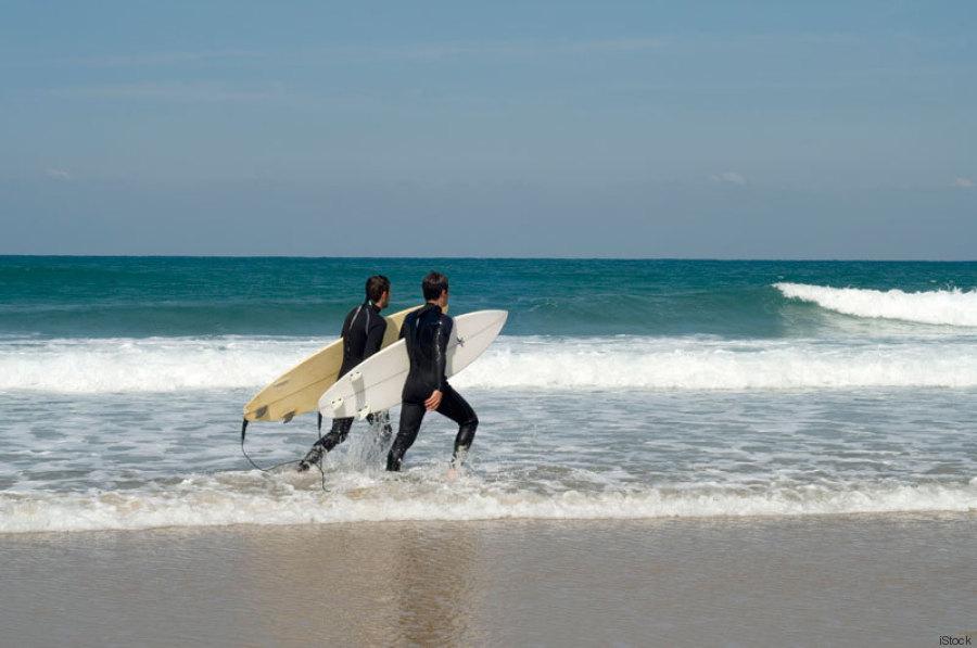 surf en el país vasco