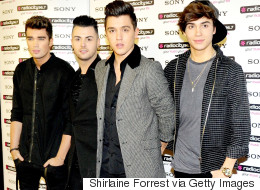 Union J Back-Pedal Fast Over George Shelley Exit