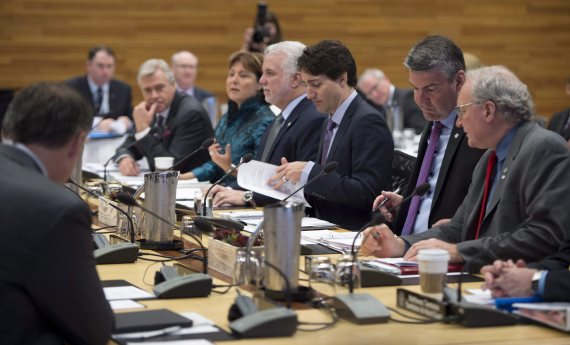 first ministers meeting vancouver climate change