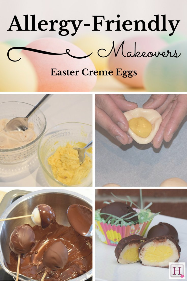Allergy-Friendly Makeover: Chocolate Creme Eggs