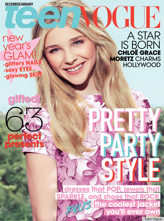 Chloe Moretz Covers Teen Vogue's December Issue, Talks
