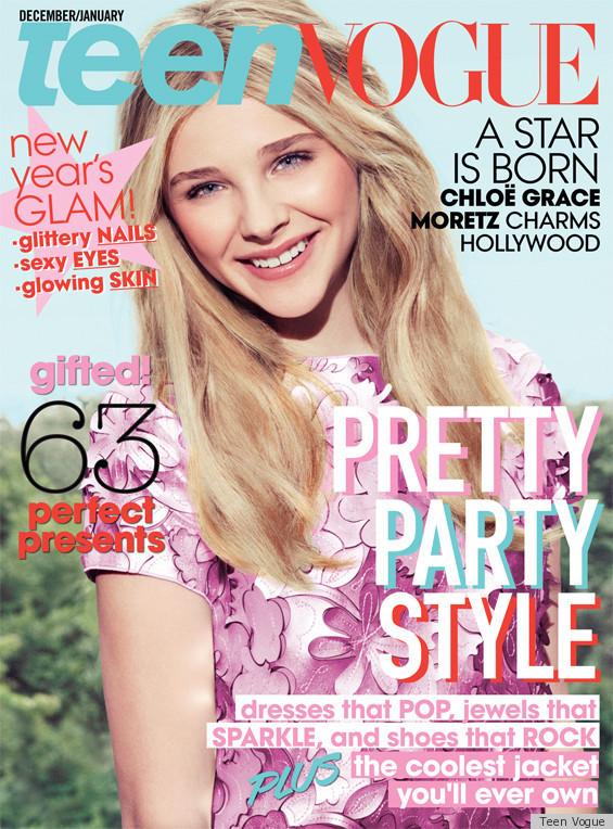 Chloe Moretz Covers Teen Vogue's December Issue, Talks