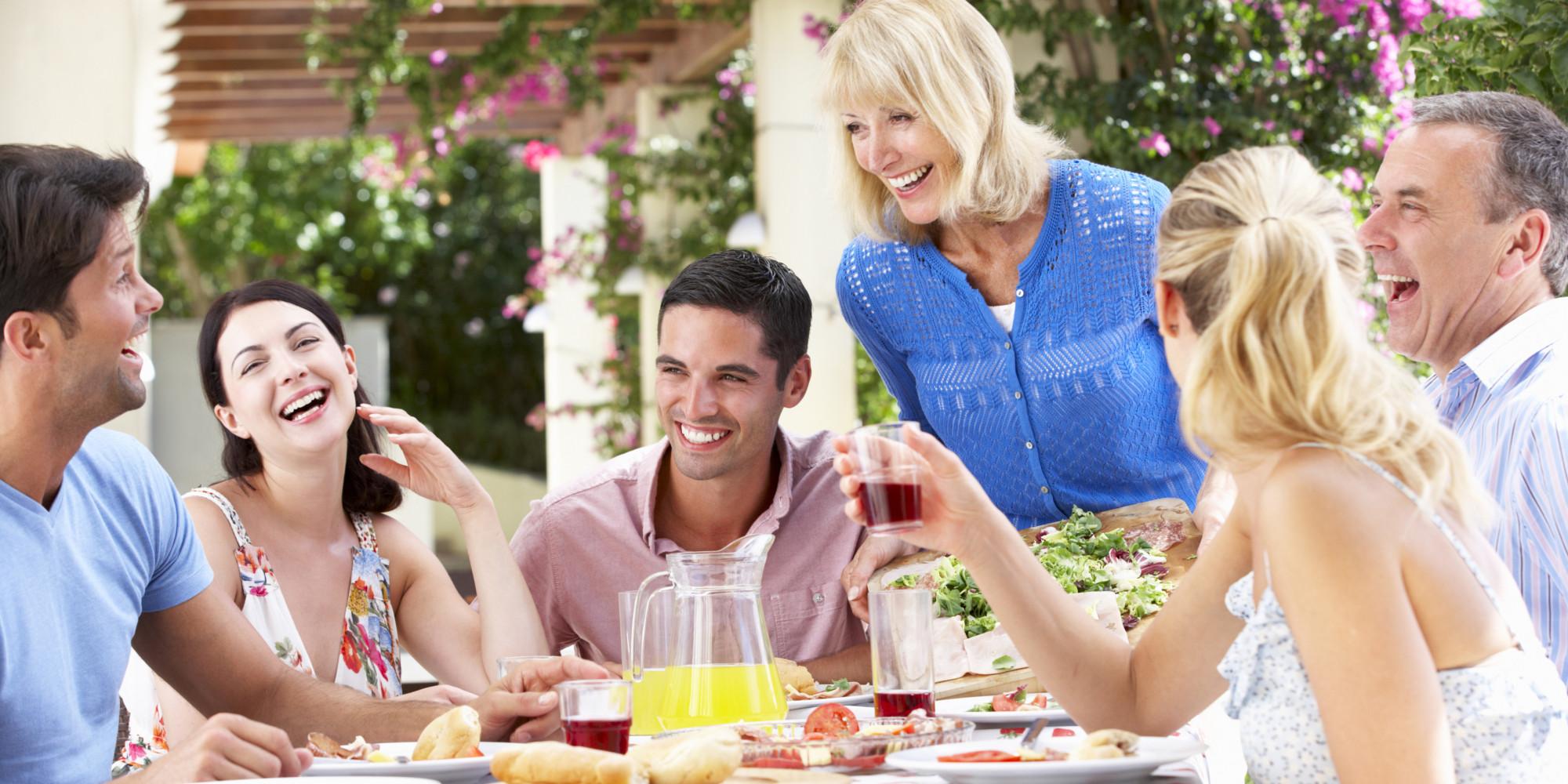 Встреча семейных пар