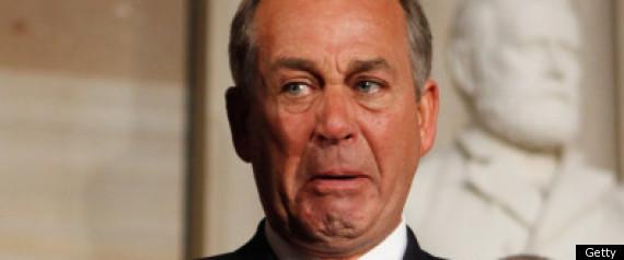 John Boehner Cries Nasa