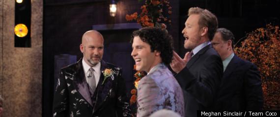 CONAN GAY WEDDING