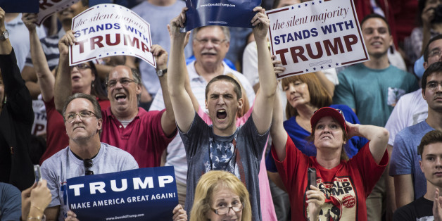 Image result for trump angry supporters images