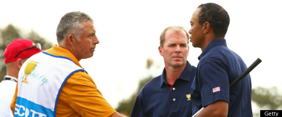 Tiger Woods Steve Williams Handshake
