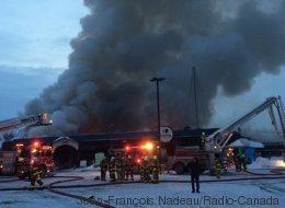 Incendie majeur au Centre Jardin Hamel