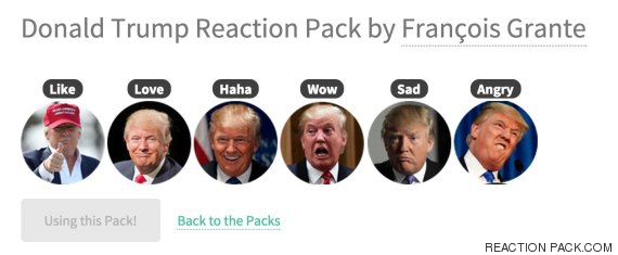 reaction pack