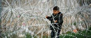 refugiados vallas