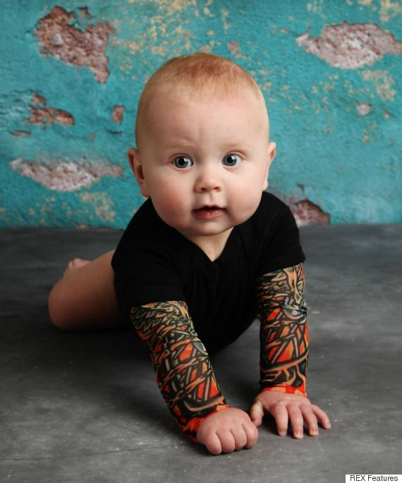 Your Baby Can Have Full Tattoo Sleeves (Without Going