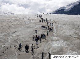 A Breathaking Glimpse Of Alberta's Athabasca Glacier