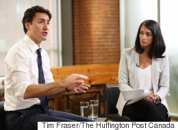 Trudeau Weighs In On Getting Women Into Politics Globally