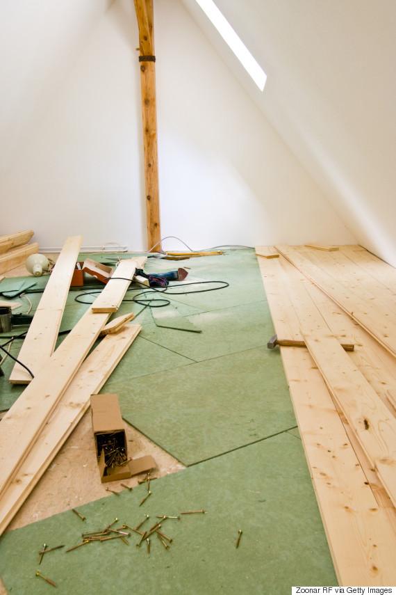 attic walls