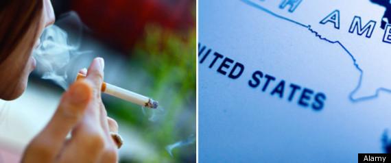 SMOKING RATE STATES
