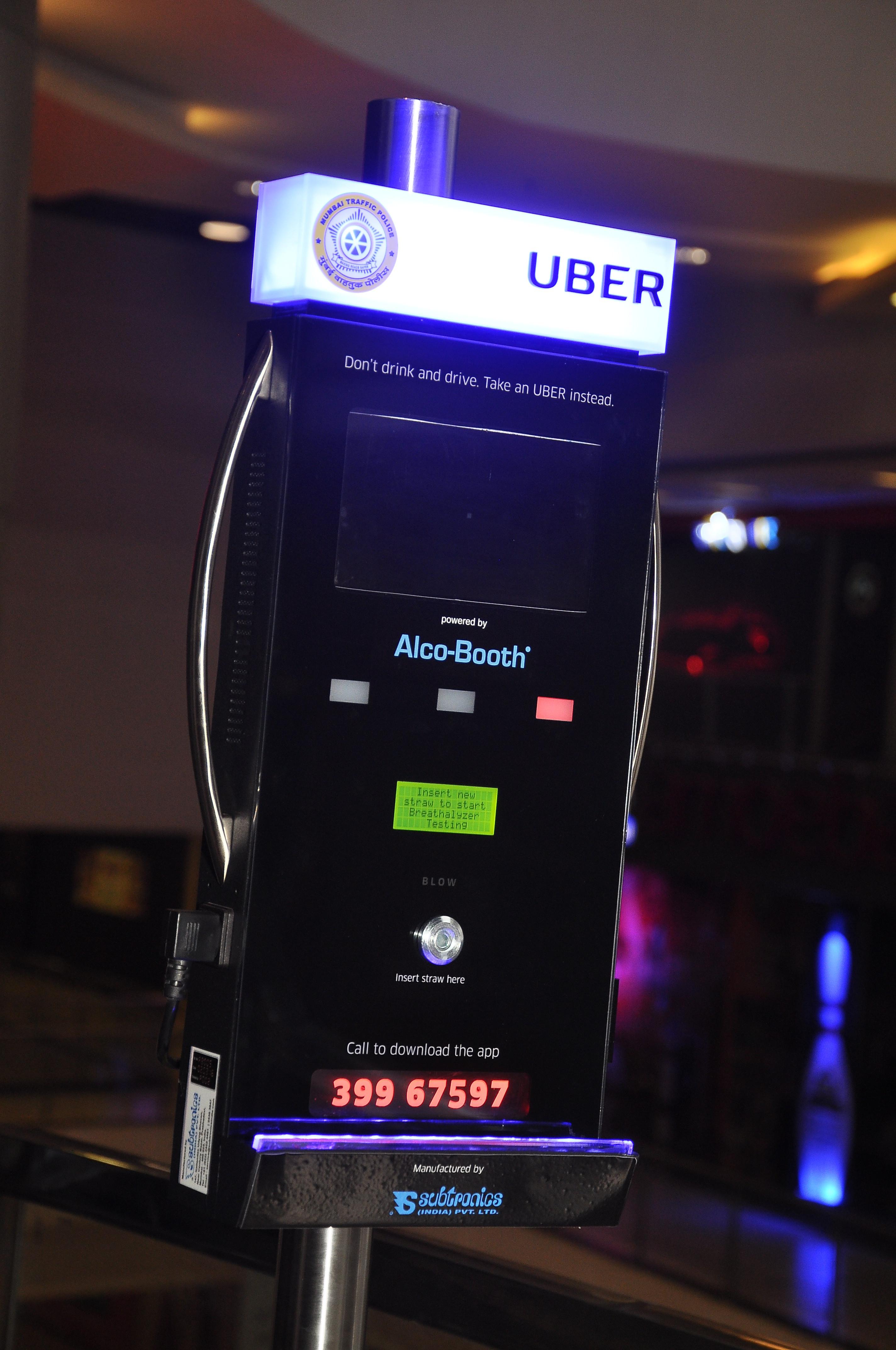 uber breathalyser