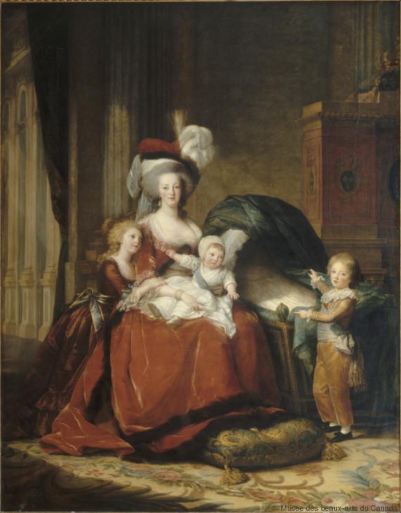 marieantoinette et ses deux enfants
