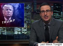 John Oliver Has A Surprisingly Graphic Description Of Donald Trump's Penis