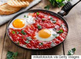 Italian Peppers and Eggs, Italian Food Recipe