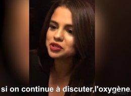 Selena Gomez, coincée dans un ascenseur, filme son sauvetage