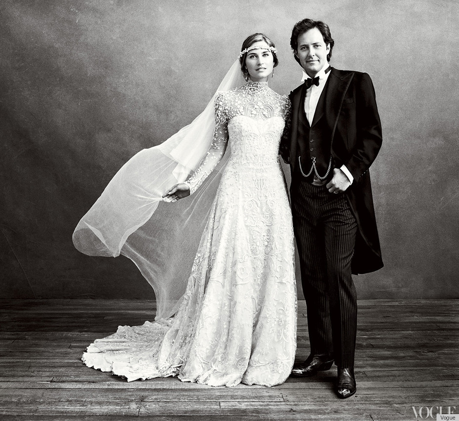 lauren bush david lauren 39 s wedding pictures unveiled in vogue