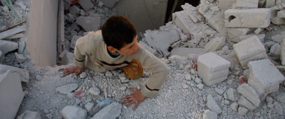 CHILDREN OF SYRIA BOMBING