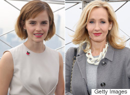 JK Rowling And Emma Watson Had An International Women's Day Love-In