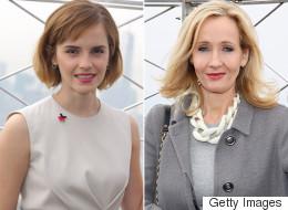 JK Rowling And Emma Watson Had An International Women's Day Love-In
