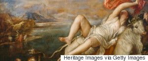 THE RAPE OF EUROPA PAINTING