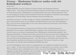 After 15 Years Of Struggle, Hindustan Unilever Is Compensating  Kodaikanal's Afflicted Workers