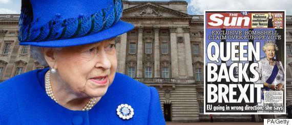 brexit queen sun