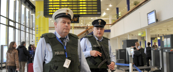 SECURITY AT AIRPORTS IN GERMANY
