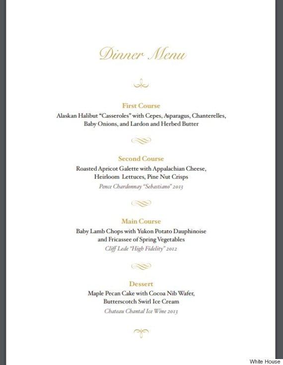 white house state dinner