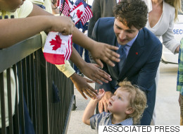 Hadrien Trudeau Charms Washington's Socks Off Seconds After Arrival