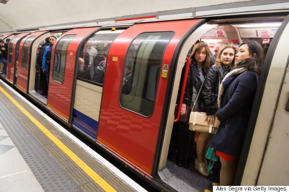 london underground overcrowding