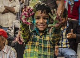 J'ai assisté au festival Holi, la fête des couleurs en Inde