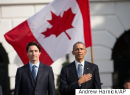 Trudeau, Obama Share Warm Moments During Historic Visit