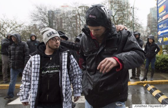 saskatchewan homeless men