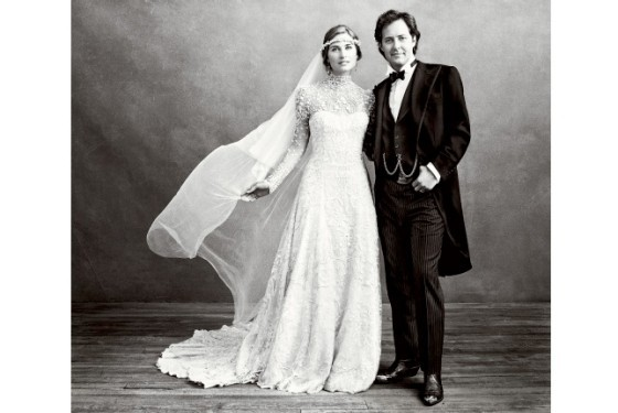 Beyonce And Lauren Bush Finally Show Us Their Wedding Gowns