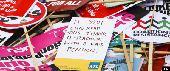 Nasuwt Pension Strikes